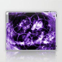 Purple Aura Laptop & iPad Skin