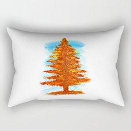 Fall Tree Rectangular Pillow