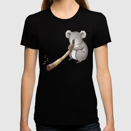 Koala Playing the Didgeridoo T-shirt