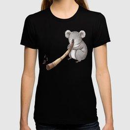Koala Playing the Didgeridoo T-shirt
