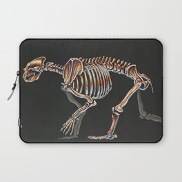 Arctodus Simus Skeletal Study (No Labels) Laptop Sleeve