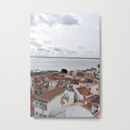 Terrace Views Metal Print