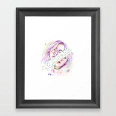 Kristína Framed Art Print