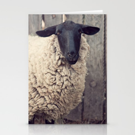 have you any wool? Stationery Cards