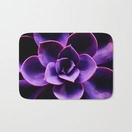 Ultraviolet Succulent Plant #decor #society6 #homedecor Bath Mat