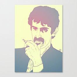 Frank Zappa Canvas Print