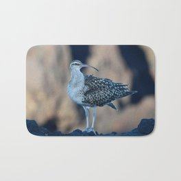 Bristle-thighed Curlew Bath Mat