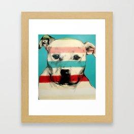 Rocky Framed Art Print