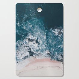 I love the sea - written on the beach Cutting Board