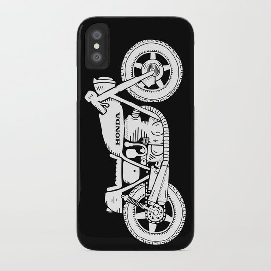 Honda CB750 - Café racer series #1 iPhone Case