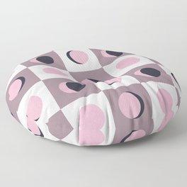 Blush Moon Cycle Floor Pillow