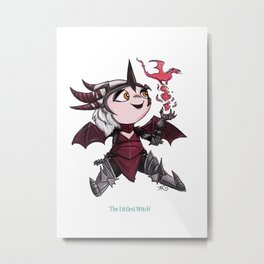 The Littlest Witch Metal Print