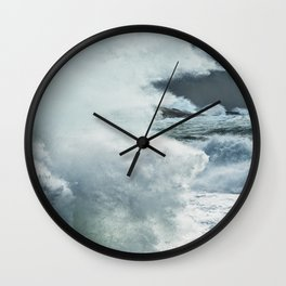 Explosion of Surf Wall Clock