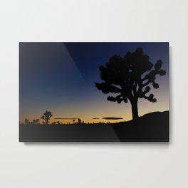 Late night - Joshua tree Metal Print