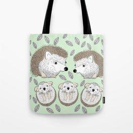 Hedgehogs Tote Bag