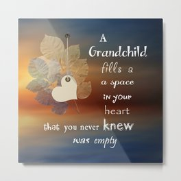 A Grandchild Metal Print