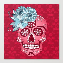 Cotton Sugar Canvas Print