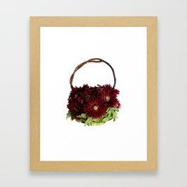 Autumn Bouquet Handbag Framed Art Print