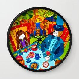 Alice in Wonderland #7 Wall Clock