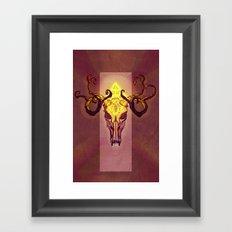 Skulls: Aura Framed Art Print