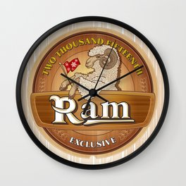 Exclusive the Ram TWO THOUSAND FIFTEENTH Wall Clock
