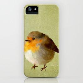 Chubby Bird iPhone Case