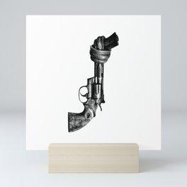 No guns Mini Art Print