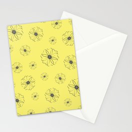 Falling Daisies Stationery Cards