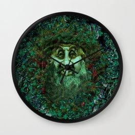 BRESSED SATURNALIA Wall Clock