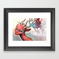 Dear Heart Framed Art Print
