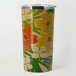 Limahuli Garden Hawaiian Floral Design Travel Mug