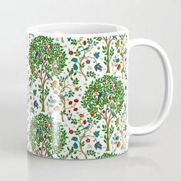 William Morris Tree of Life Pattern, Green & Multi Coffee Mug