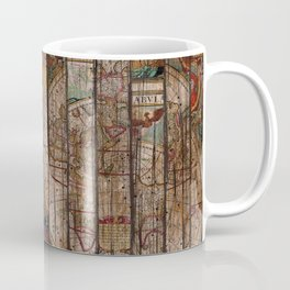 Encrypted Map Coffee Mug