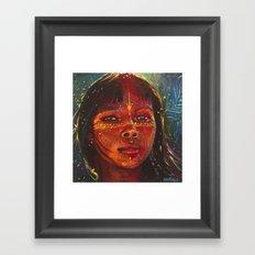 Ixchel Framed Art Print