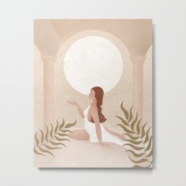 Moon Goddess - Release Metal Print