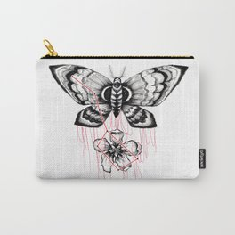 mothblossom Carry-All Pouch