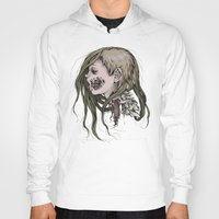 gore Hoodies featuring Gore Girl by Savannah Horrocks