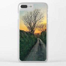 On the way to Caerhays Clear iPhone Case