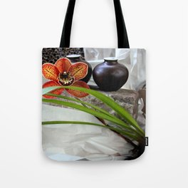 Salt And Pepper With Cream Tote Bag