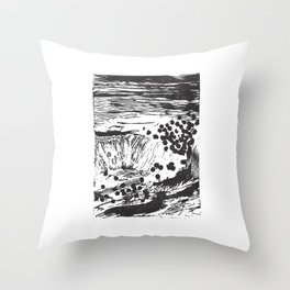 Pipes & Reed Throw Pillow