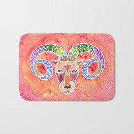 Zodiac Collection: Aries Bath Mat