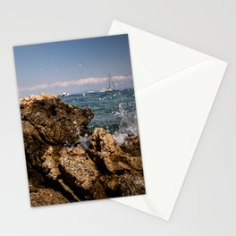 Rocks in Palma de Mallorca Stationery Cards