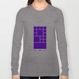Windows Phone 8 Grid - Purple Long Sleeve T-shirt