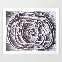 Claustrophobic  Art Print