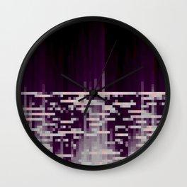 40hz: Glass Wall Clock