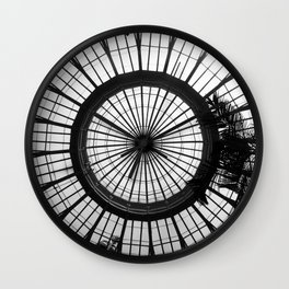 Under the Sun Dome Wall Clock
