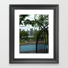 New York City, Landscape Framed Art Print