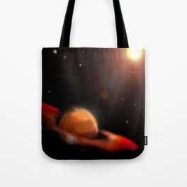 Space & Planet Tote Bag