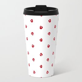 White Apples Travel Mug
