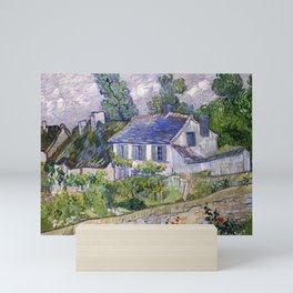 Vincent Van Gogh Houses At Auvers Mini Art Print